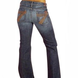 7 for all mankind Dojo flare jeans sz 29